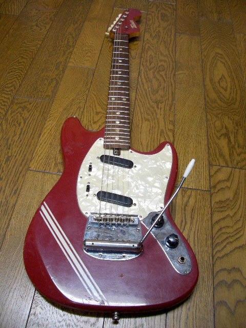 Fender Stratocaster Neck >> Teisco Mustang